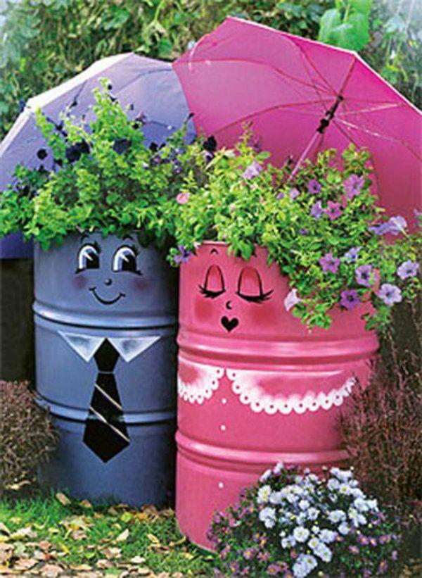 Comment décorer son jardin avec des accessoires charmants qui vont nous inciter à la joie de vivre? Des idées creatives pour tout le monde en photos ici.