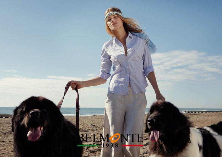 Una camicia morbida e pantaloni di lino. A soft shirt and linen trousers. #belmonte1938