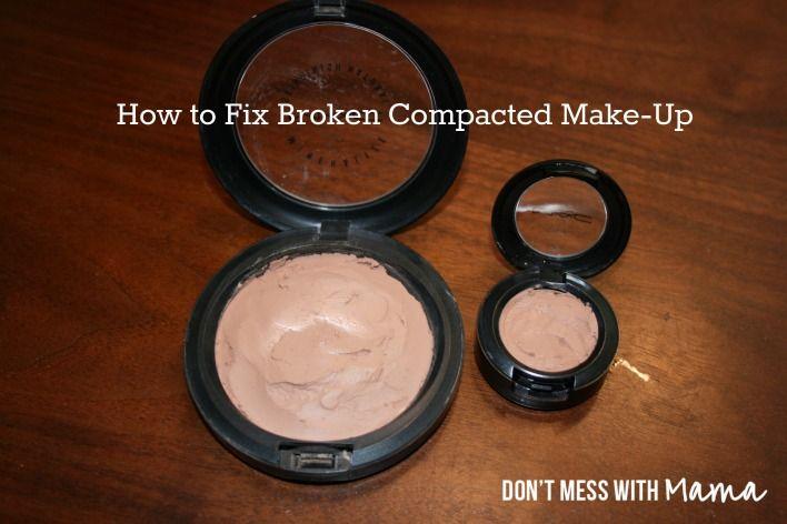 How to Fix Broken Compacted Make-up