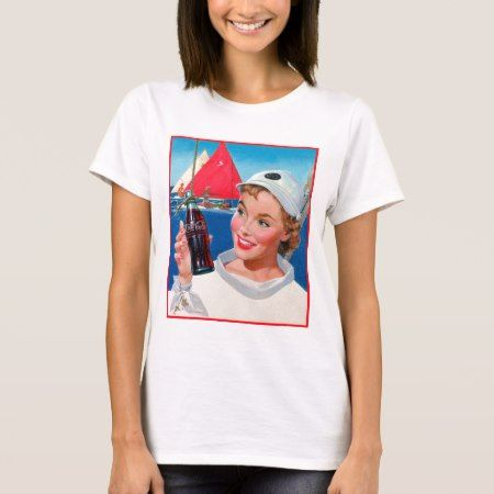 Vintage Coca-Cola | Sailor Girl T-Shirt - tap, personalize, buy right now!
