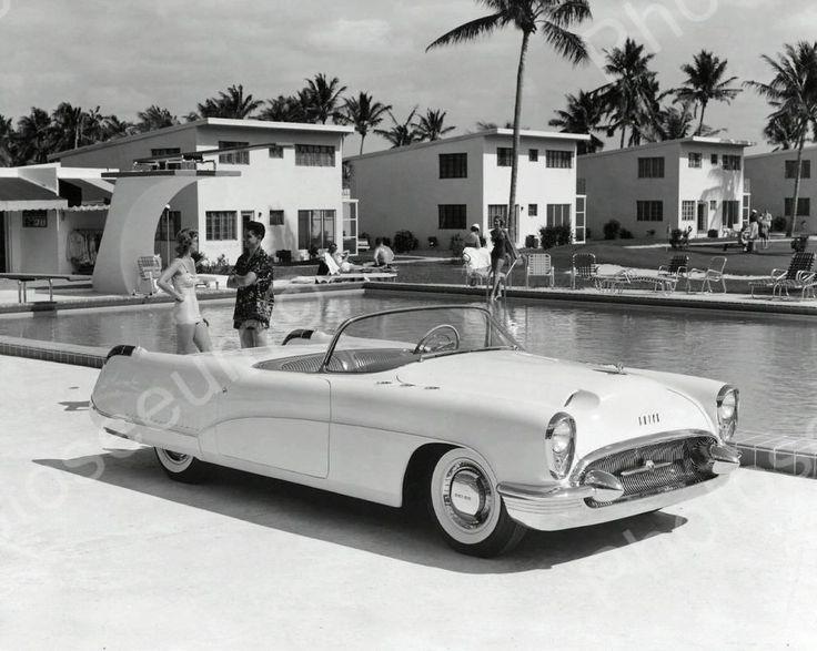 Buick Wildcat Automobile 1953 Vintage 8x10 Reprint Of Old Photo