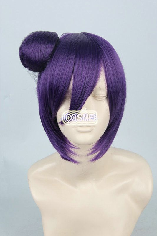 Наруто конан 35 см фиолетовый короткая аниме косплей , потому парик синтетический волос