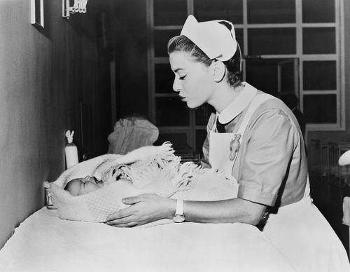 334 Best Nurses With Babies Images On Pinterest Vintage