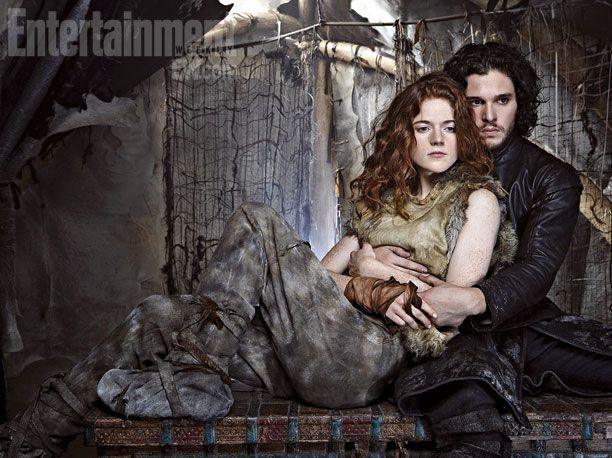 Rose Leslie & Kit Harington (Ygritte & Jon Snow) Game of Thrones, click for 6 more character portraits.