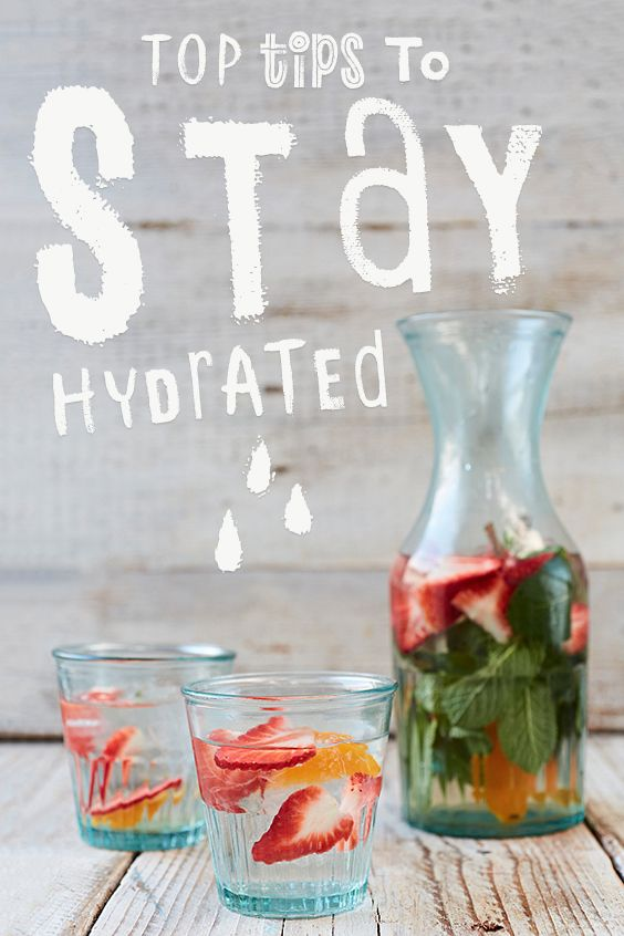 here are lots more helpful tips on staying hydrated, some from me and some from our lovely social community.