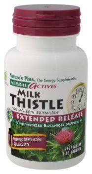 Nature's Plus - Milk Thistle Ha, 500 mg, 30 tablets by Nature's Plus. $18.69. Save 30%!