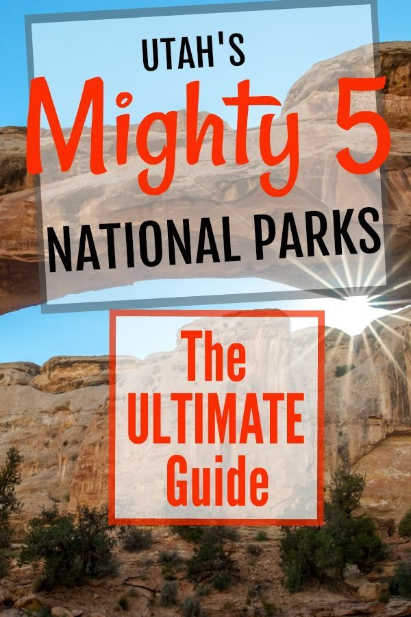 The Mighty Five Utah Map.The Mighty 5 Utah National Parks Utah State Park Tour Pinterest