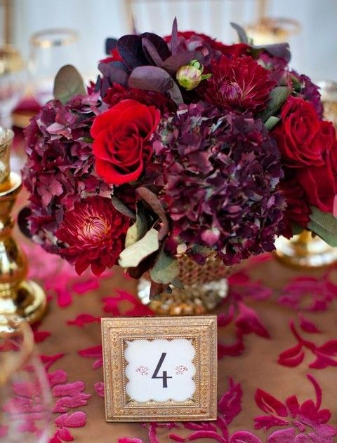 38 Best Burgundy Wedding Flowers Images On Pinterest