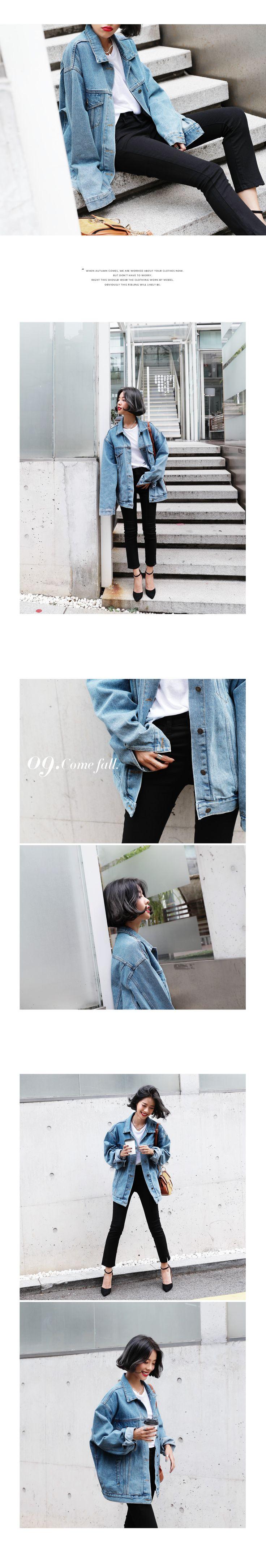ビックシルエットデニムジャケット・全3色アウタージャケット・ブレザー|レディースファッション通販 DHOLICディーホリック [ファストファッション 水着…