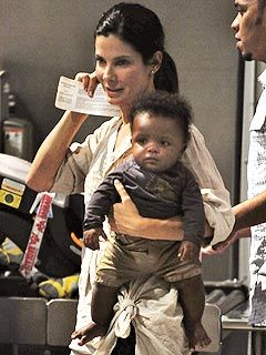 Sandra Bullock Calls Baby Louis Her 'Little Cajun Cookie'