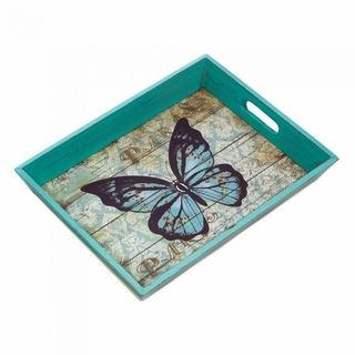 $29.95 - Wow your guests when you serve snacks and drinks on this gorgeous tray.