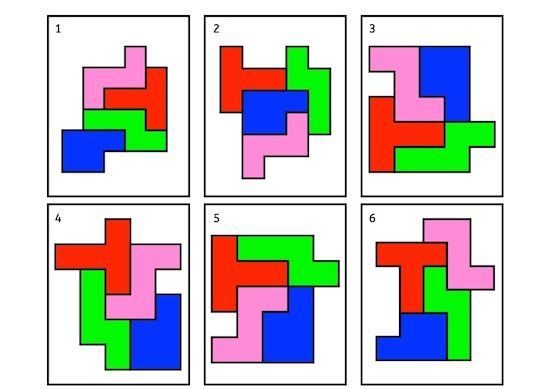 Figuren legen, Pentomino, Aufmerksamkeit, Wahrnehmung, visuelle Wahrnehmung, räumliche Wahrnehmung, AFS-Methode, Koujou, Stephany Koujou, Ki...