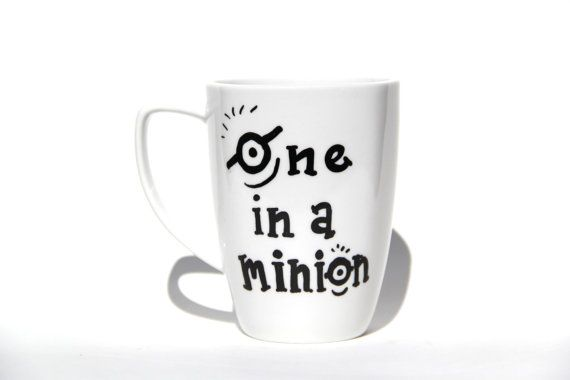 One in a Minion Coffee Mug - Despicable Me - Hand painted