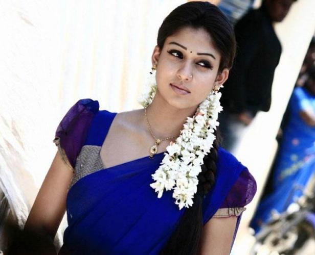 Namitha in Blue