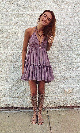 nice Free People - 100 Degree Dress