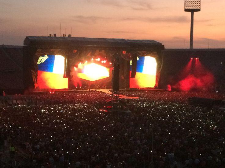 Rolling Stones- Estadio Nacional- Santiago- Chile