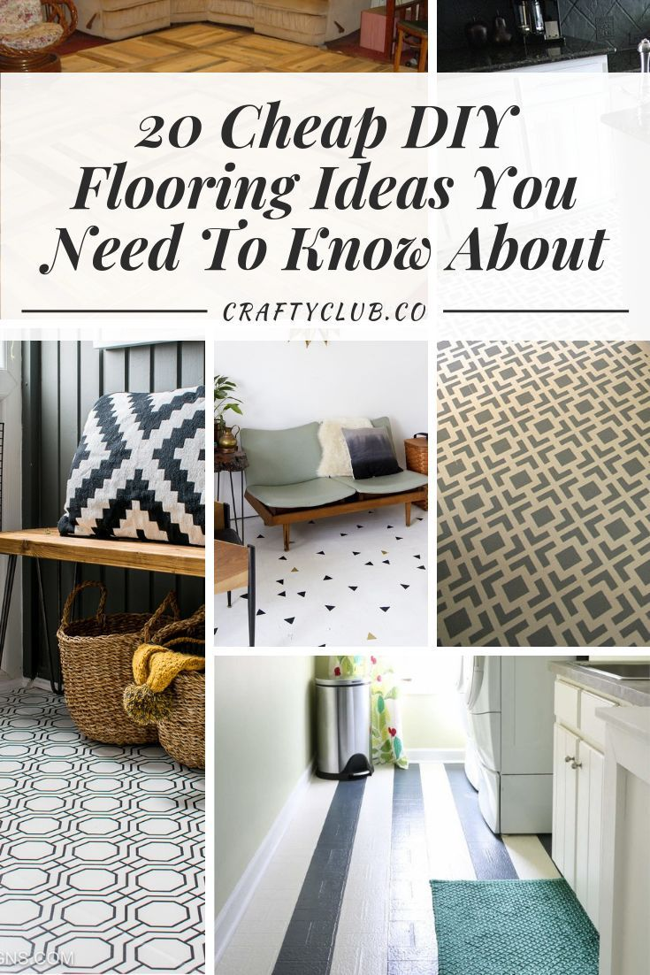20 Cheap Diy Flooring Ideas You Need To Know About Diy Flooring
