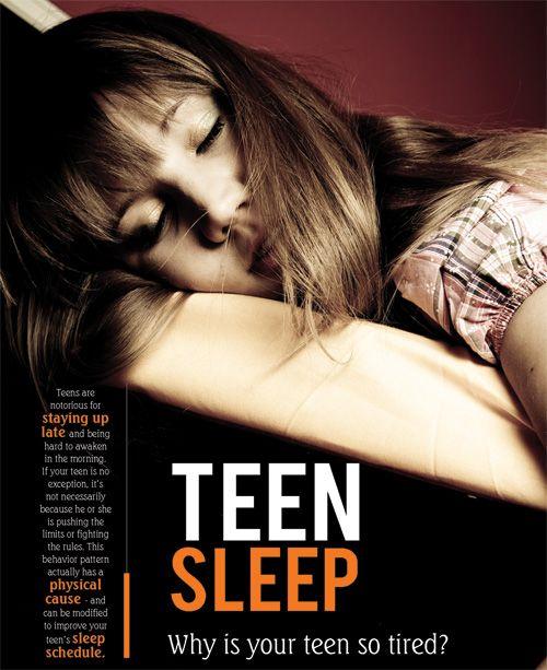 Sleep Problems Health Teen 10