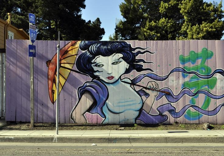 Woodland Shoppers Paradise: West Oakland Street Art