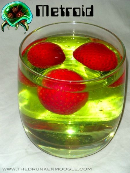 13 Wonderfully Geeky Cocktails...some are seriously different.