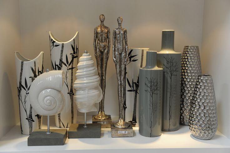 Articulos De Decoracion Vintage ~ de porcelana, jarrones y flores y elementos vintage como relojes de
