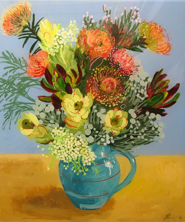 ❀ Blooming Brushwork ❀ - garden and still life flower paintings - Cape Town Painter, Jenny Parsons