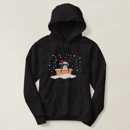 Funny Cat Gifts For Manx Lover At Xmas Hoodie - birthday gifts party celebration custom gift ideas diy