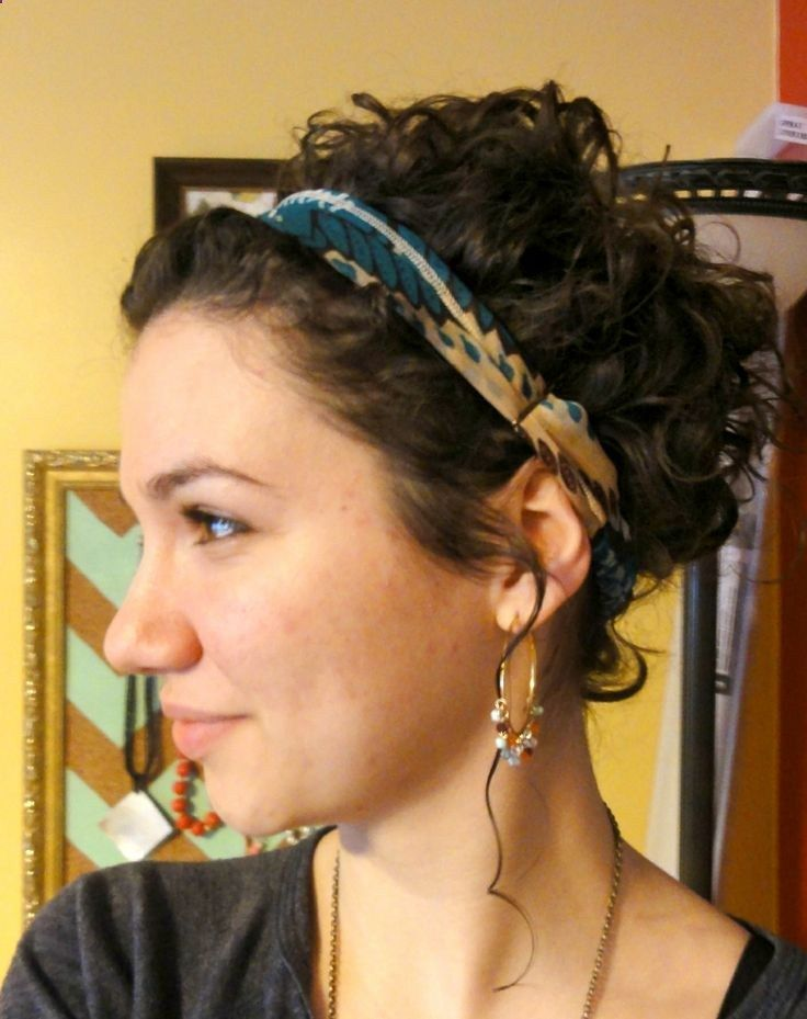 how to put up short curly hair - Google Search                                                                                                                                                                                 More