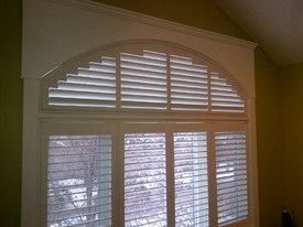 Eyebrow Arch Shutters By Sheila S Window Toppers Crowfoot