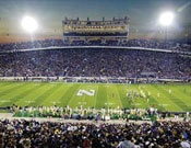 Great shot of an NU football game ... we need more night games!