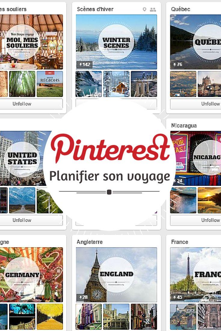Voici quelques conseils pour vous aider à utiliser Pinterest afin d'organiser vos voyages!