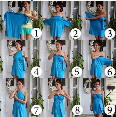 How to make a dress out of a TShirt in 9 easy steps