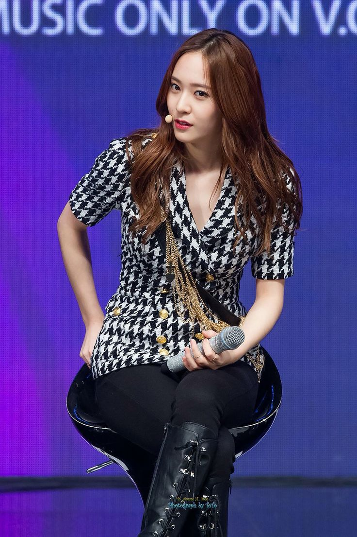 150930 Krystal f(x) = Tencent K-Pop Live Mini Concert