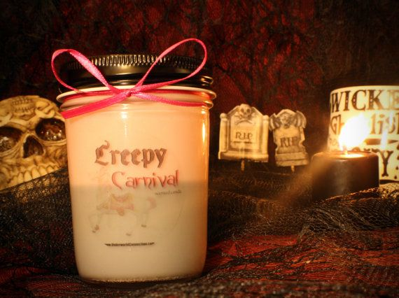 Creepy Carnival scented candle by UnderworldConnection on Etsy