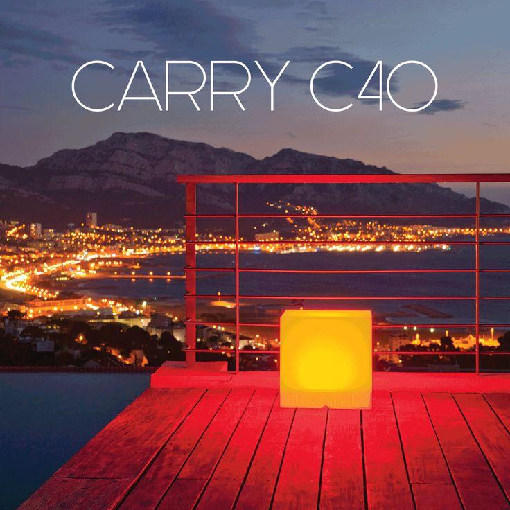 12 best Boules et cubes lumineux images on Pinterest Cubes, Bobby - cube lumineux solaire exterieur