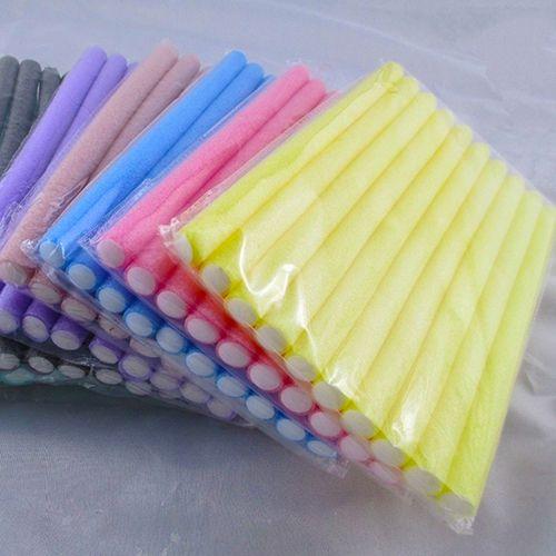 New Arrivals   10 Pcs Soft Foam Bendy Twist Curler Sticks DIY Hair Design Maker Curl Roller Tool