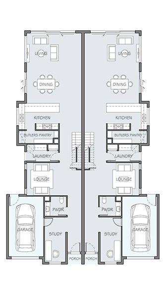 186 Best Floor Plans Duplex Images On Pinterest Floor