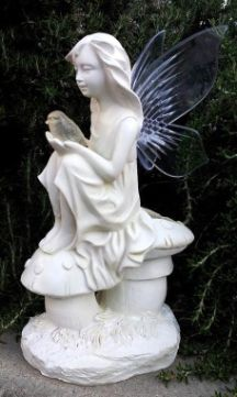 Add charm to your garden, patio or landscape with this solar garden angel with color changing wings. http://www.mysolarshop.com/angel-statue-solar-color-changing-wings-2w52