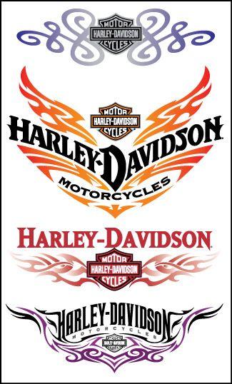 Harley Davidson Script Tattoo | tattoo finger tattooangel snake tattoo los angeles tattoos china ...