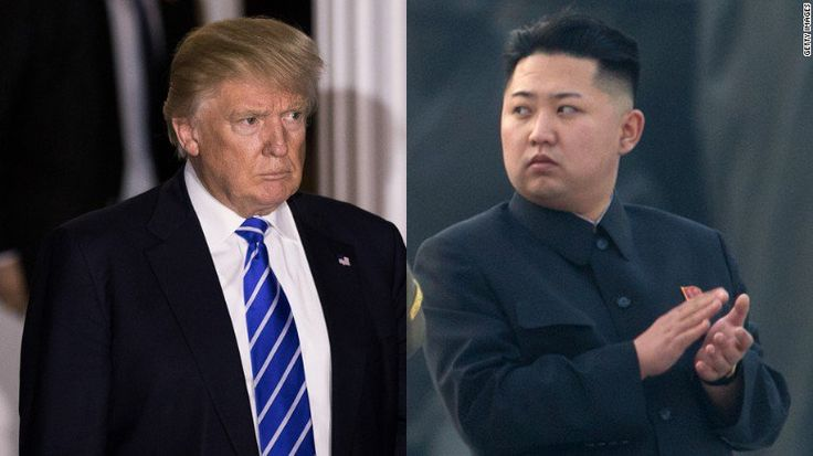 Welcome to Ele & Elis Blog: Trump vows: 'It won't happen on 'North Korea's nuc...
