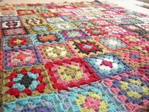 Granny Square blanket by juliette