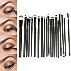 20 Stücke Professionelle Make Up Pinsel Set Puder Foundation Lidschatten Eyeliner Lippen Make Up Pinsel Werkzeug, Schwarze