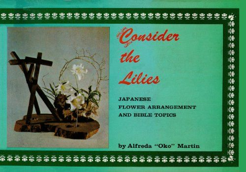 Consider the Lilies Japanese Flower Arrangement and Bible Topics *** Want additional info? Click on the image.