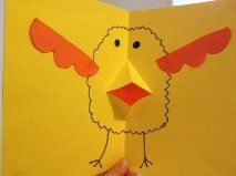 The 51 best easter ideas ks2 images on pinterest crafts for kids fun easter card for kids to make negle Images