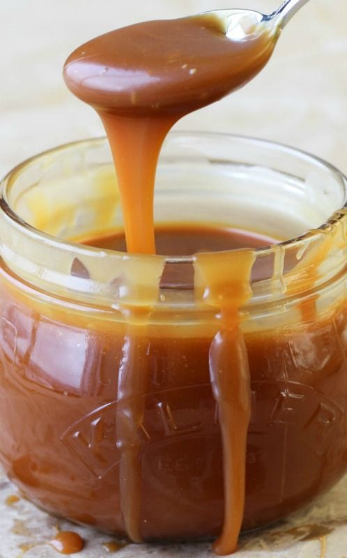 Best Salted Caramel Sauce                                         2 cups granulated sugar 12 tablespoons unsalted butter, at room temperature and cut into pieces 1 cup heavy cream, at room temperature 1 tablespoon fleur de sel (or another sea salt)