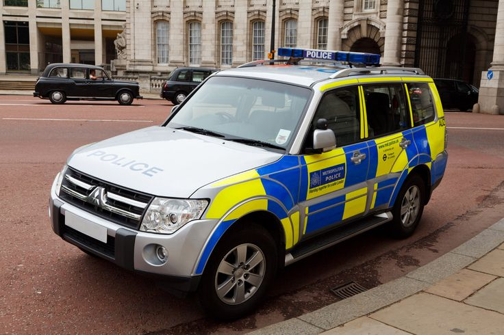 British Police | British Police Car by Petr Kratochvil