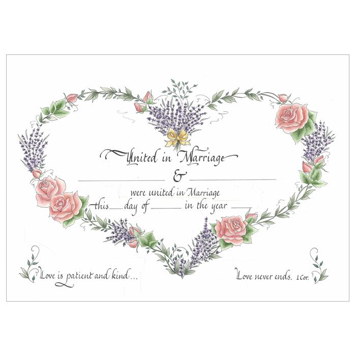 39 best Wedding Wall Art images on Pinterest Wedding wall - marriage certificate