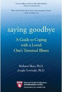 """The """"new"""" stages of grief (for dealing with an extended process of death rather than a sudden, unexpected death)"""