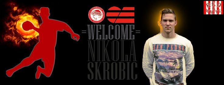Ο 1,92μ. 25χρονος Σέρβος, δεξιός ίντερ Νίκολα Σκρόμπιτς, είναι το νέο απόκτημα της ομάδας μας στο χάντμπολ! #Red_White #Nikola_Skrobic #Olympiacos #Handball