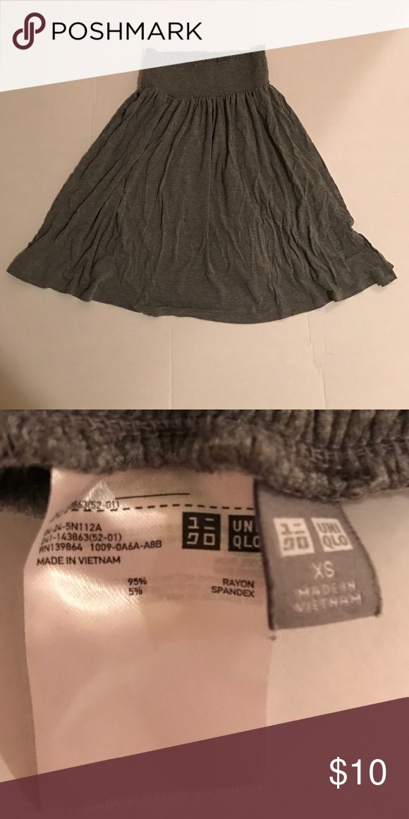UNIQLO SKIRT Never worn! Comfortable and flowy! From Boston UNIQLO pop up store! Uniqlo Skirts Midi
